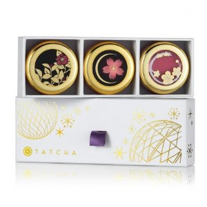Camellia Kisses Lip Balm Trio - Holiday Preview 2017 | Tatcha