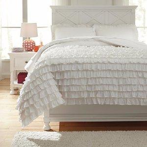 包邮,低至3.5折收被套、靠垫、毯子今晚截止:Ashley Furniture 精选家居母亲节促销