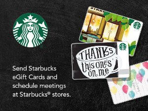 Spend $5 Get $5 Starbucks eGift Cardby Using Microsoft Outlook add-in