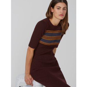 The Dominique Ribbed Sweater-Dress