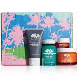 Origins 4-Pc. Energizing Essentials Gift Set - Origins Gifts & Value Sets - Beauty - Macy's