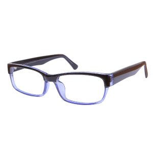 Steven - Black/Blue Eyeglasses