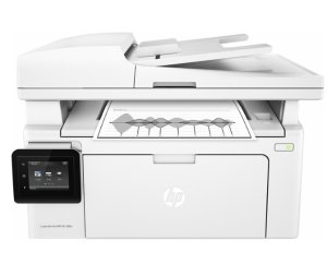 $99.99HP - LaserJet Pro MFP M130fw Wireless Black-and-White All-In-One Printer