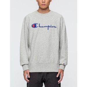 Champion Reverse Weave - Script Logo Sweatshirt   HBX