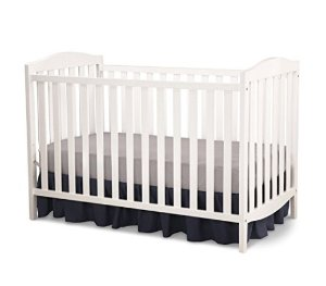 Delta Children Capri 3-in-1 Crib, White