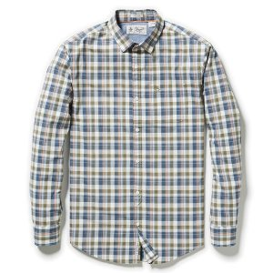 CLASSIC FIT P55 JASPE PLAID SHIRT