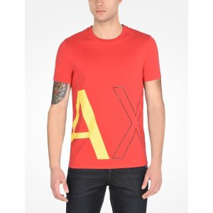 Armani Exchange LARGE AX LOGO TEE, Logo Tee for Men - A|X Online Store