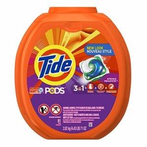 $16.97 销量冠军Tide PODS 速溶果冻洗衣球,81只装