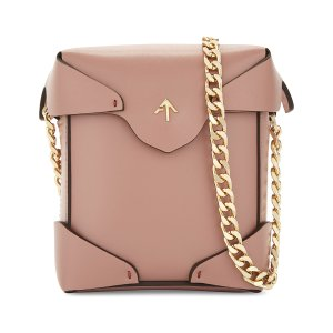 MANU ATELIER Micro Pristine leather cross-body bag |