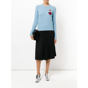 Dolce and Gabbana – Queen Patch Sweater | Kirna Zabête