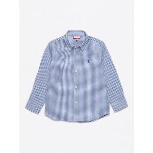 Button Cuffs Check Shirt by Neck & Neck at Gilt