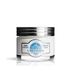 L'Occitane Shea Butter Light Comforting Cream For Combination Skin
