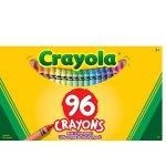 Crayola儿童蜡笔96支装(带卷笔刀)