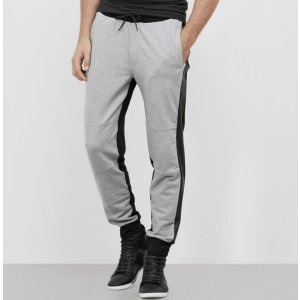 Jogger Pant with Faux Leather Details | Kenneth Cole