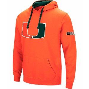 Men's Stadium Miami Hurricanes College Big Logo Hoodie