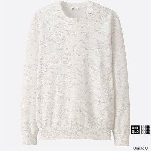 MEN U SUPIMA COTTON CREW NECK SWEATER | UNIQLO US