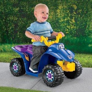 $49 史低价Fisher-Price 费雪儿童四轮电动小车