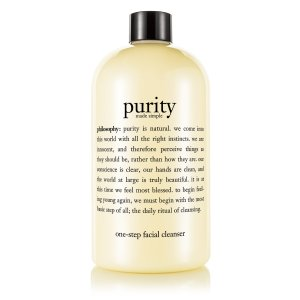 purity made simple | one-step facial cleanser | philosophy