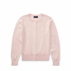 Cotton Crewneck Cardigan