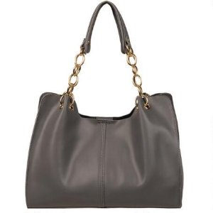 WILSONS LEATHER VINTAGE SMALL LEATHER HOBO W/ CHAIN STRAP