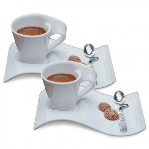 New Wave Caffè 6 -Piece Espresso Set - Villeroy & Boch
