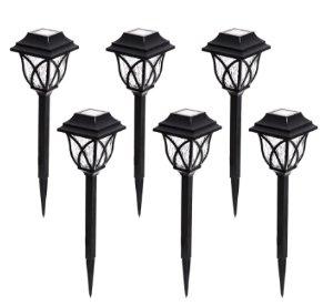 $12Portfolio 6-Light Black 0.5-Watt LED Path Light Kit