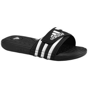 adidas Adissage SuperCloud Slide - Men's - Casual - Shoes - Black/White