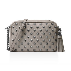 Ginny Studded Medium Leather Camera Bag