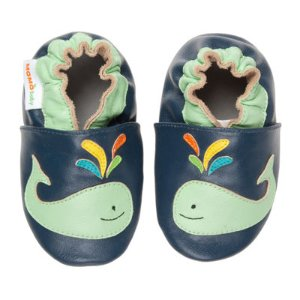 Momo Baby A Whale Of A Time Boys Crib Shoes-Baby - JCPenney