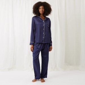 Claudia Shirt and Trouser Navy