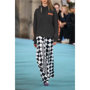 Off-White   Rays Over printed cotton-jersey sweatshirt
