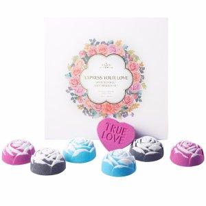 $7Anjou Rose Bath Bombs Gift Set