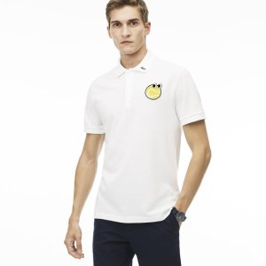 Men's Yazbukey Edition Regular Fit Petit Piqué Polo Shirt | LACOSTE