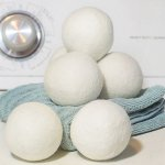 Sheep Soft Wool Dryer Balls, Extra Large (Set of 6)