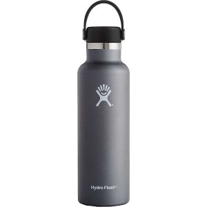 Hydro Flask 21oz Standard Mouth Insulated Bottle with Standard Flex Cap - at Moosejaw.com