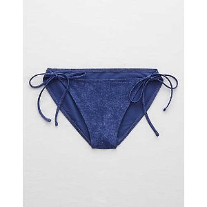 Aerie Bikini Bottom, Dark Wash | Aerie for American Eagle