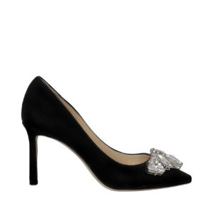 Jimmy Choo Marvel velvet pumps with crystals