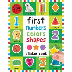 First 100 Stickers: First Numbers, Colors, Shapes - Walmart.com