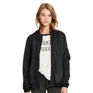 Twill Bomber Jacket - Trenches & Anoraks � Coats & Jackets - RalphLauren.com