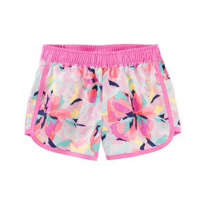 Toddler Girl Floral Print Active Shorts | OshKosh.com
