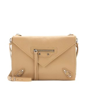 Balenciaga - Papier leather shoulder bag | mytheresa.com