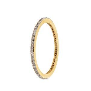 Monica Vinader Skinny Diamond Eternity Ring