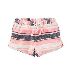 Toddler Girl Striped Sun Shorts | OshKosh.com