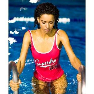 Superdry Varsity '09 Swimsuit - Women's Swimwear
