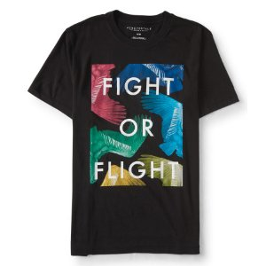 Fight Or Flight Graphic T