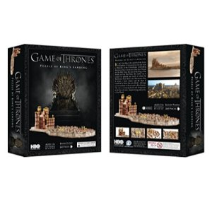 $20.434D Cityscape Game of Thrones: 3D Kings Landing Puzzle (260 Piece)