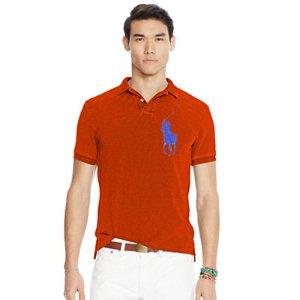 Slim Fit Cotton Mesh Polo - Slim Fit  Polo Shirts