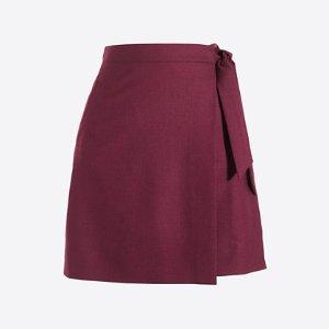 Flannel skirt : mini | J.Crew Factory