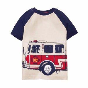 fire truck tee