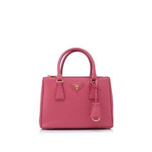 Prada Saffiano Lux Galleria Shopping Bag